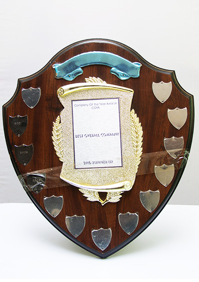 Second Runners Up Best Overall Company	2006