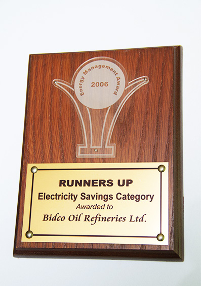 Runners Up Electricity Savings Category  2006