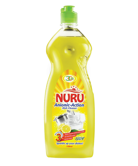NURU ANIONIC-ACTION DISH CLEANER