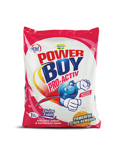 Power Boy Divine Fresh Pink Washing Powder