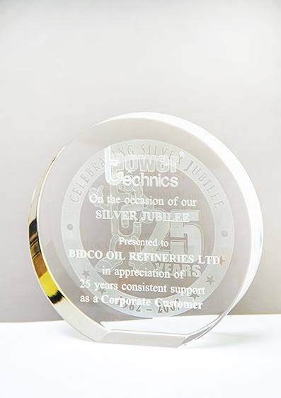 Power Technics Silver Jubilee Appreciation Award