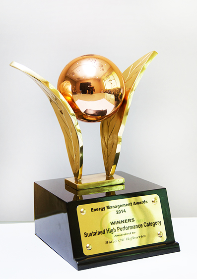 WinnerSustained High Performance Category 2014