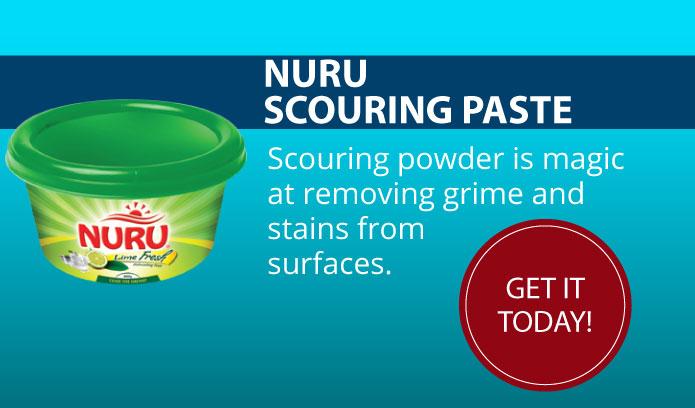 Nuru Lemon Scouring Powder